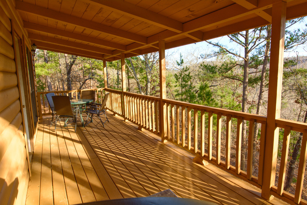 Balcony with Ridge View