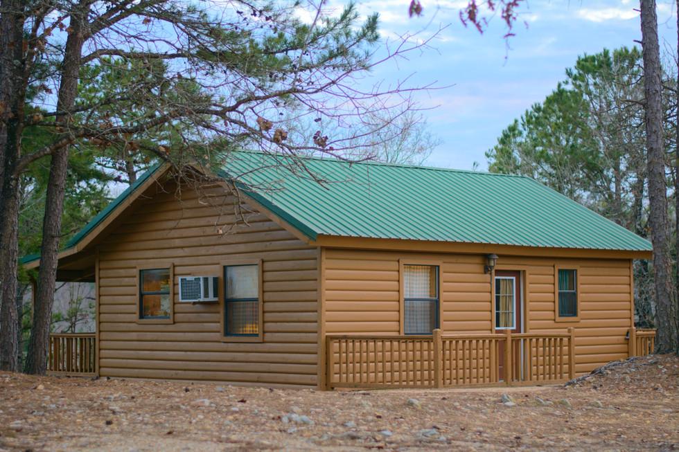 Ridgeview Cabin Exterior