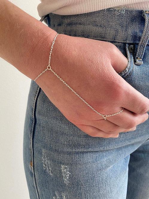 Clypsy Sterling Silver Hand Chain