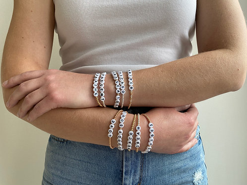 Giulia Customized Name Bracelets