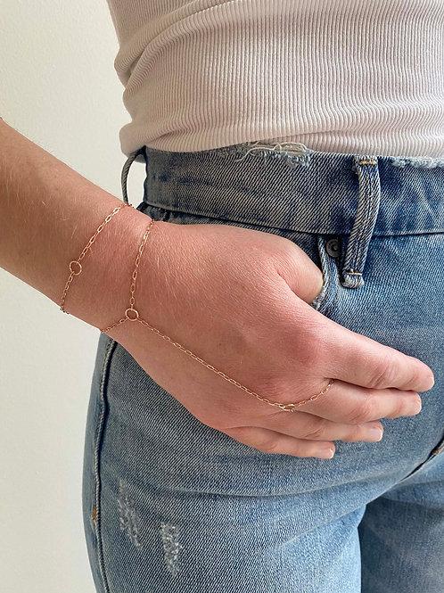 Olivia Rose Gold Chain Bracelet