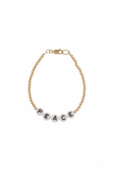 Giulia Peace Gold Bracelet