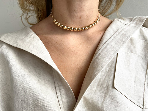 Ginnette 14K Gold-Filled Beaded Necklace