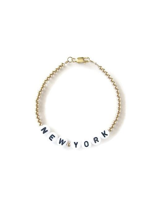 Giulia Gold New York Bracelet