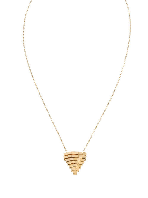 Coco Woven Gold Necklace