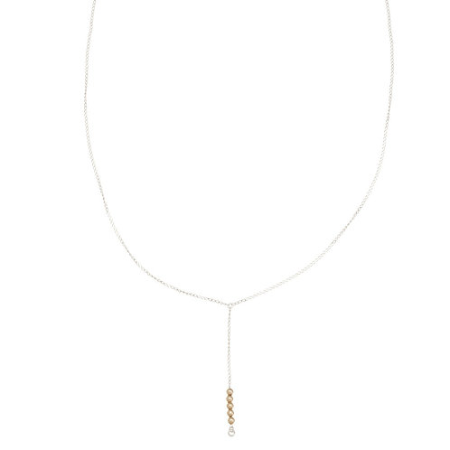 Sienna Gold Y necklace