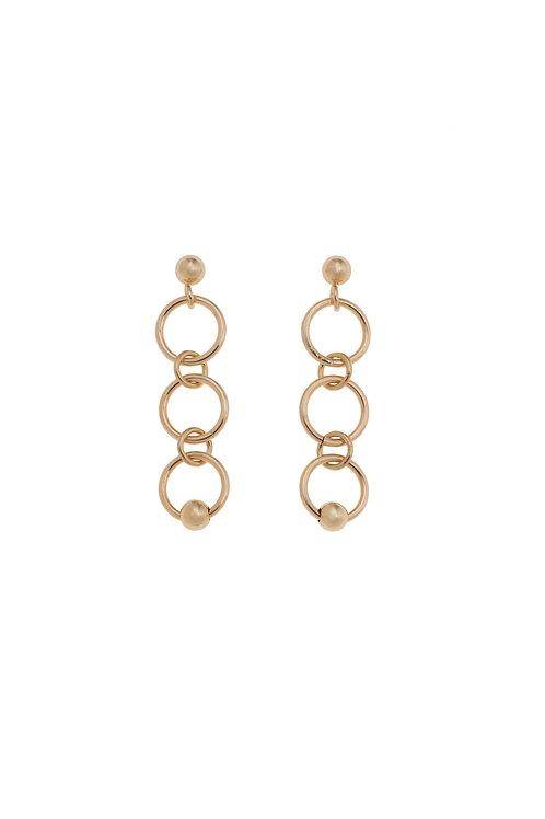 Fiora Gold Mini Hoop Earrings