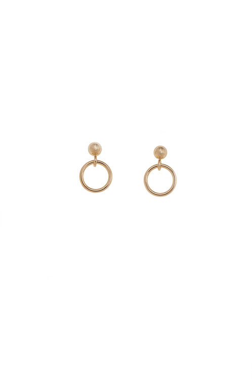 Marcella Gold Mini Hoop Earrings