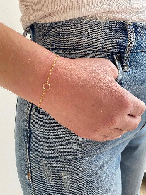 Olivia Gold Chain Bracelet