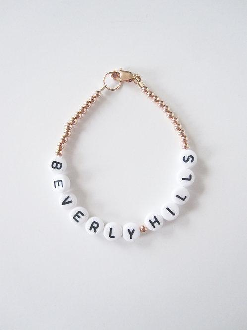 Giulia Rose Gold Beverly Hills Bracelet