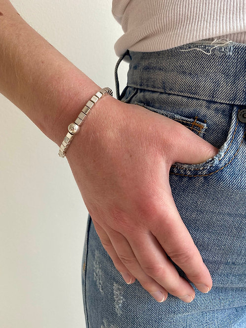 Chloe Sterling Silver Bracelet