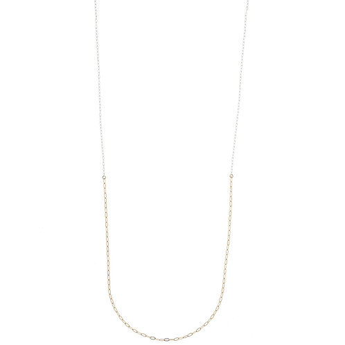 Cory Gold Silver Chain Necklace