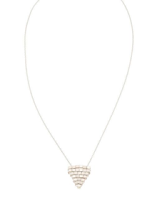 Coco Woven Silver Necklace