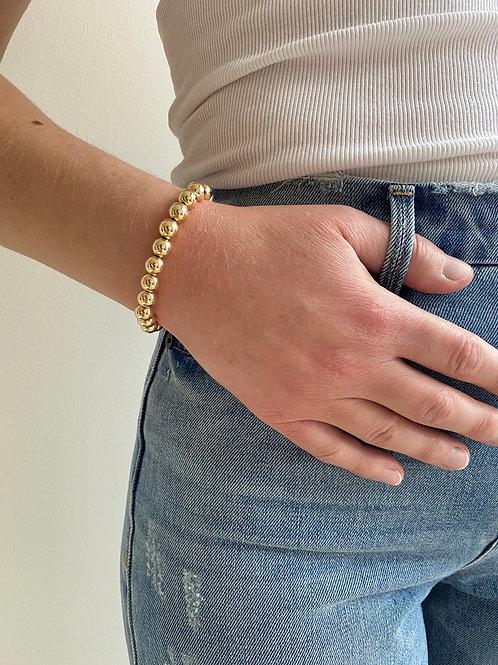 Ginnette Gold Beaded Bracelet