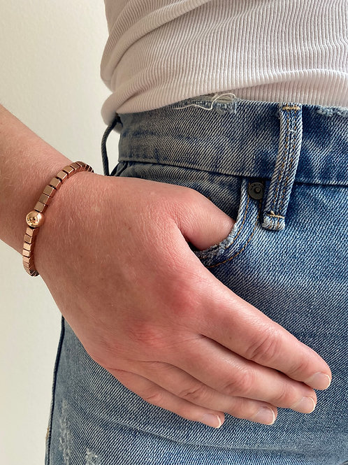 Chloe Rose Gold Bracelet