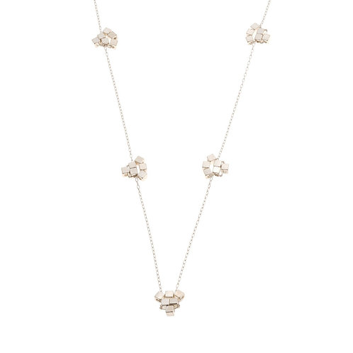 Bridgetta Sterling Silver Long Necklace