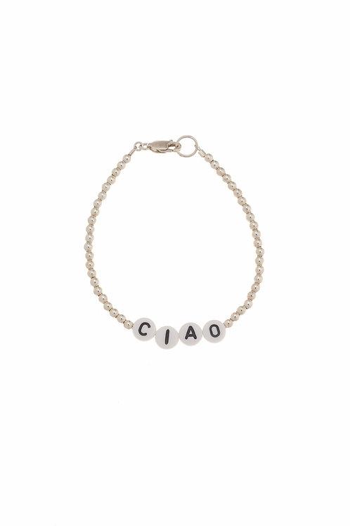 Giulia Ciao Sterling Silver Bracelet