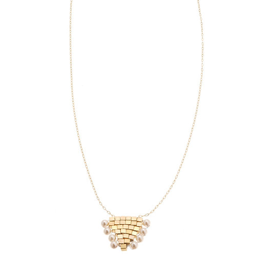 Coco Pearl Gold Necklace