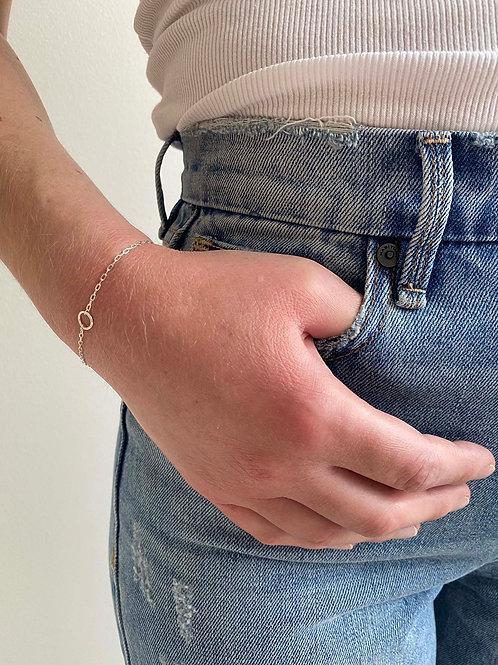 Olivia Sterling Silver Chain Bracelet