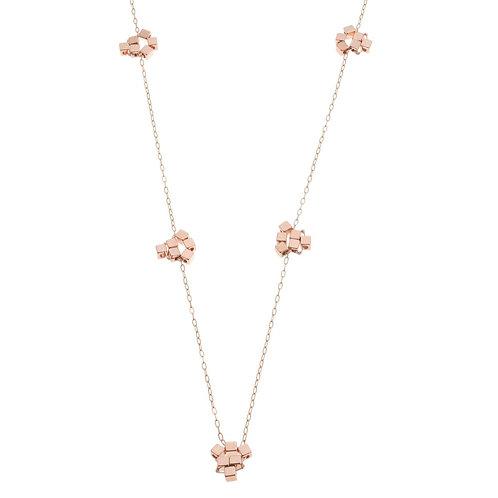 Bridgetta Rose Gold Long Necklace