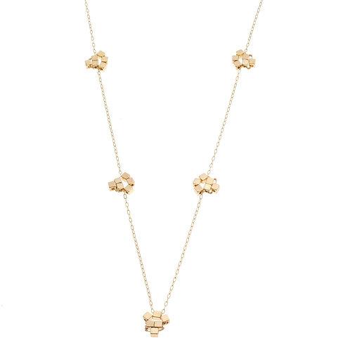 Bridgetta Gold Long Necklace