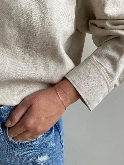 Cory Tri-metal Chain Bracelet