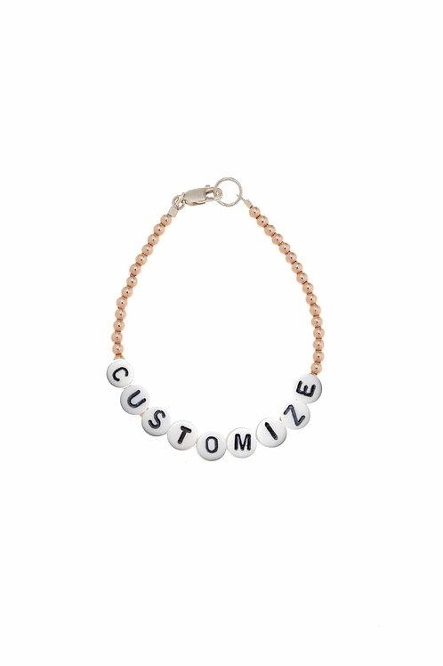 Giulia Customize Rose Gold Bracelet