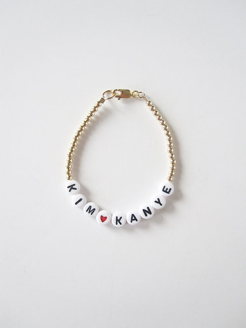 Giulia You Heart Them Customized Bracelet