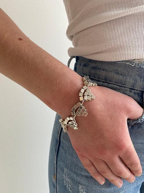 Balara Silver Triangle Bracelet