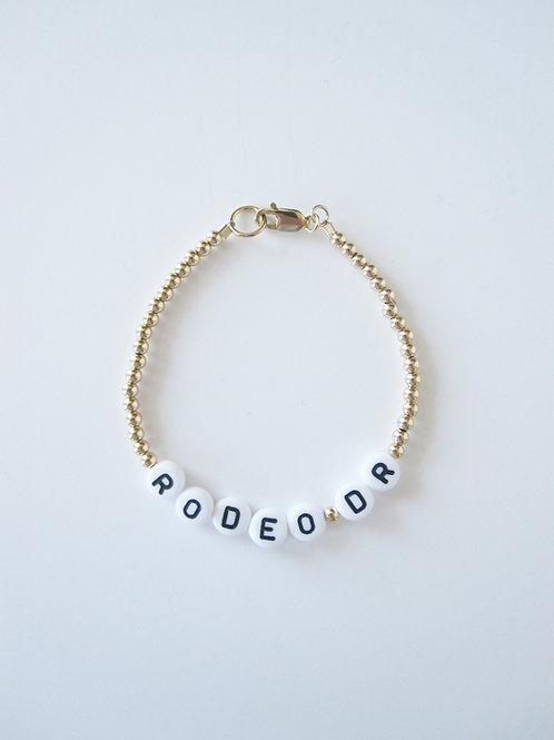 Giulia Gold Rodeo Drive Bracelet