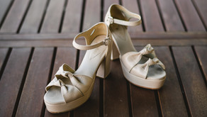 Tendencias en zapatos de novia por Connie Zilber:
