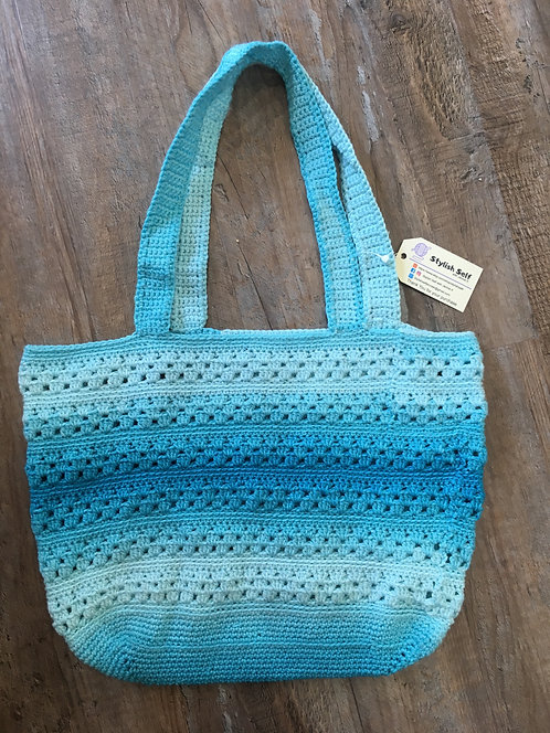 Jennifer Kohnen, Hand Crochet Market Bag