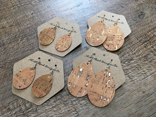North Road Designs Cork Earrings