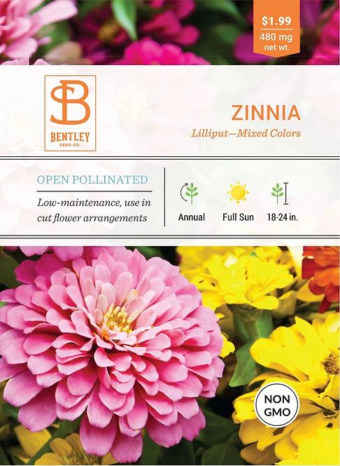 Zinnia - Seed Packet