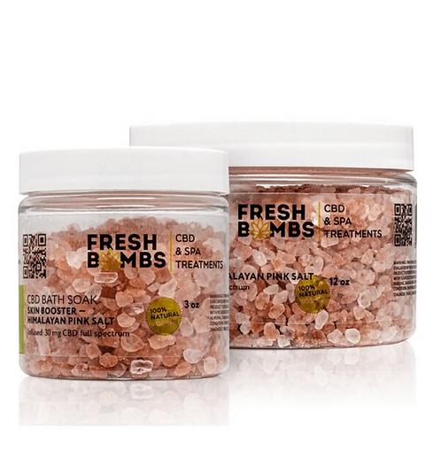 CBD Bath Soak - Himalayan Pink Salt