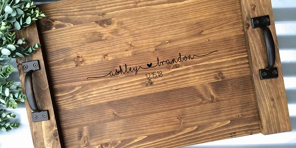 Personalized Wood Trays