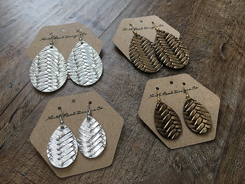 North Road Designs Fishtail Earrings