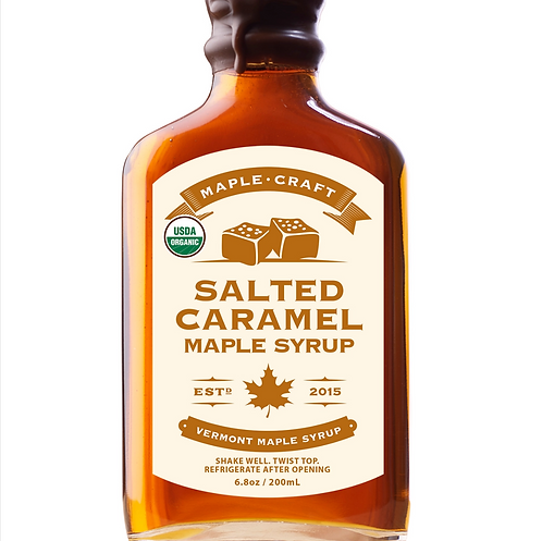Salted Caramel Craft Maple Syrup