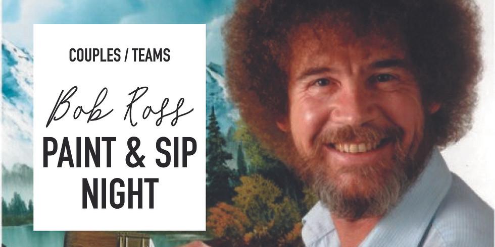 Bob Ross Couples/Teams Paint & Sip Night