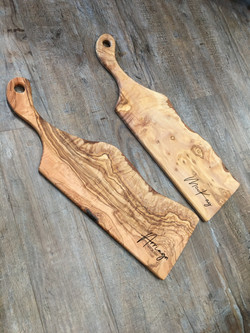Olivewood Charterie Board