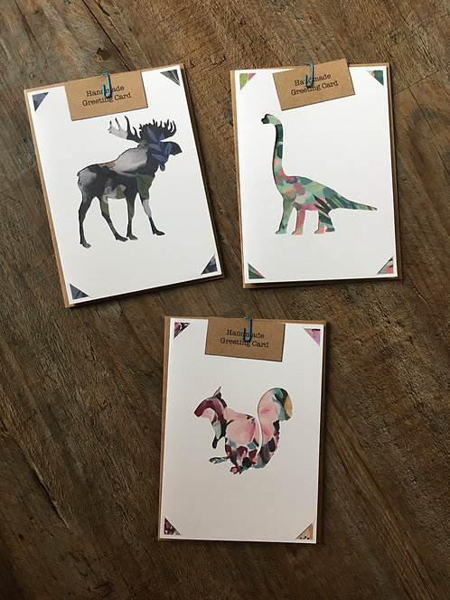 Blank Animal Greeting Card