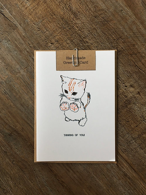 'Thinking of You' Animal Greeting Card