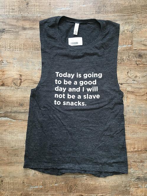 Candy Snacks: Sleeveless Shirt: Slave to Snacks