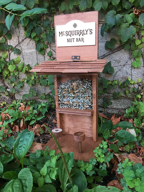 McSquirrly's  Custom Squirrel Nut Bar