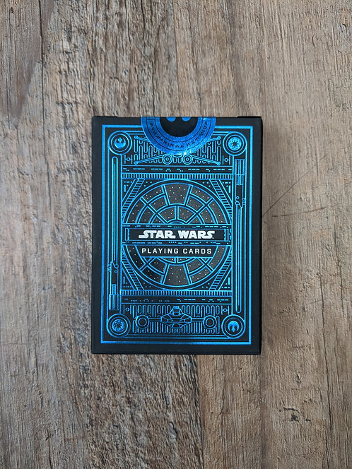 Star Wars: Light Side Blue Playing Cards