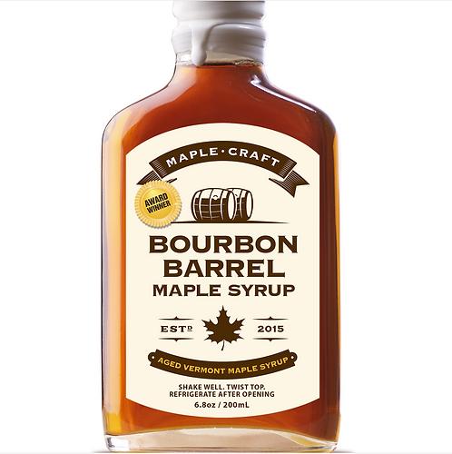 Bourbon Barrel Craft Maple Syrup