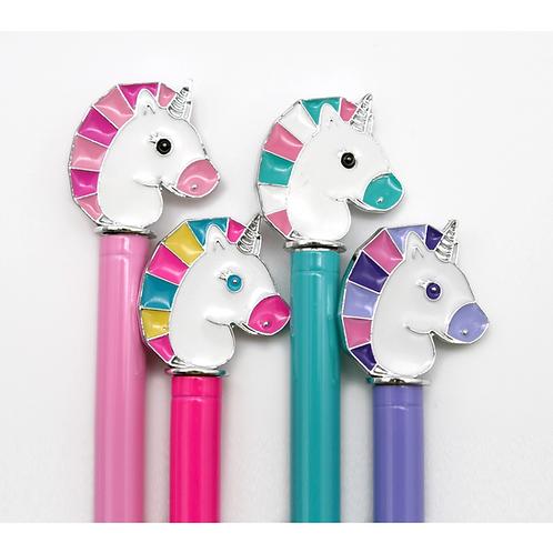 Unicorn Pen with Enamel Charm