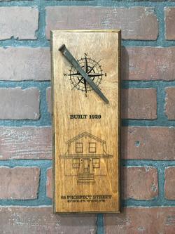 Custom Wood Plaque