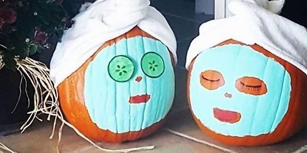 Paint + Sip Pumpkins