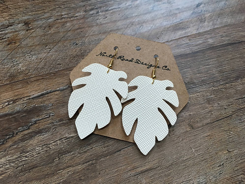 North Road Designs Palm Earrings